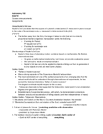 UT - ASTR - Class Notes - Week 4