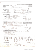USC - MATH 229 - Study Guide - Midterm