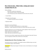 The U - PSY 1010 - Class Notes - Week 7