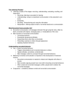 UNCG - COMM 105 - Class Notes - Week 5