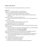 UOP - BIO 061 - Class Notes - Week 6