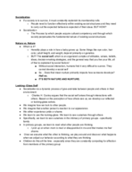 UNCG - SOC 101 - Class Notes - Week 8