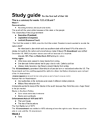 Towson - HIST 146 - Study Guide - Midterm