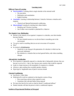 Brown U - CLPS 0010 - Class Notes - Week 5