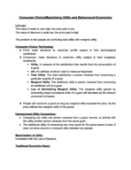 ECO - Class Notes - Week 4
