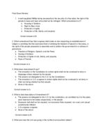 UTEP - POLS 2311 - Study Guide - Final