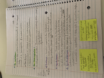 University of Memphis - BIOL 2010 - Class Notes - Week 16