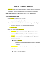 West Valley College - POLI 001 - Class Notes - Week 14