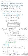 How to use logarithmic?
