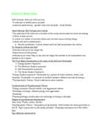 APSY 101 - Study Guide