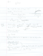 KSU - MATh 1190 - Class Notes - Week 2