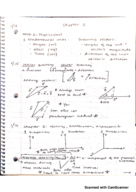 UH - PHYS 1321 - Class Notes - Week 1
