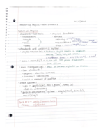Clayton State - PHYS 2211 - Class Notes - Week 1