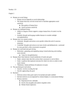 OleMiss - PSY 321 - Class Notes - Week 2