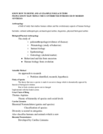 Syracuse - ANT 131 - Study Guide - Midterm