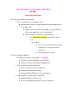 APHI 111 - Class Notes - Week 12