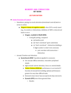 Albany - APSY 381 - Class Notes - Week 14