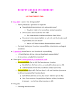 APHI 111 - Class Notes - Week 13