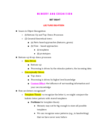 Albany - APSY 381 - Class Notes - Week 15