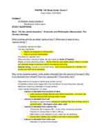 Syracuse - PHI 125 - Study Guide - Final