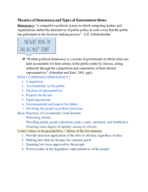 UNG - POLS 1101 - Class Notes - Week 1