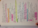 color coding notes key