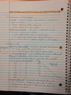 ECON 201 - Class Notes - Week 4