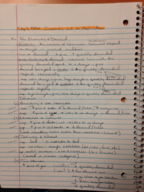 ECON 201 - Class Notes - Week 5