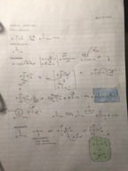 CHEM 241 - Class Notes - Week 11