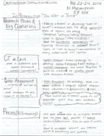 I R 308 - Class Notes - Week 1