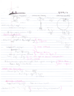 UNM - PHYS 151 - Class Notes - Week 2