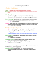 PSY 1113 - Class Notes - Week 6