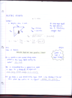 PHYS 1500 - Class Notes