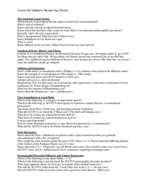 COMM 407 - Study Guide