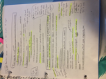 MBIO 213 - Class Notes - Week 14