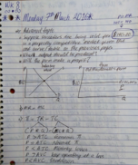ECON 2306 - Class Notes - Week 8
