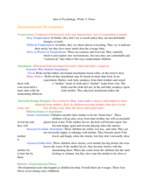 PSY 1113 - Class Notes - Week 11