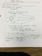 PHY 1455 - Class Notes - Week 7