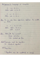 CS 230 - Class Notes - Week 1