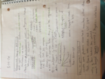 MBIO 111 - Class Notes - Week 16