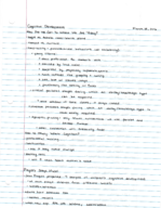 PSY 0001 - Class Notes - Week 8