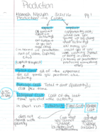 ECON 1201 - Class Notes - Week 6