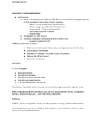 PSY 315 - Study Guide