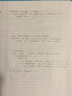 BCORE 101 - Class Notes - Week 8