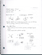 CHEM 131 - Class Notes - Week 10
