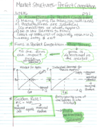 ECON 1201 - Class Notes - Week 7