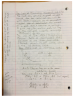 ECON 310 - Class Notes - Week 7
