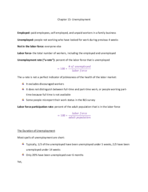 ECON 10233 - Class Notes - Week 9