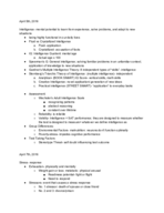 PSYC 1101 - Study Guide