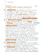 HIST 1400 - Class Notes - Week 12